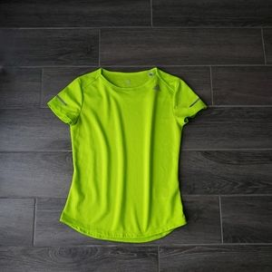 adidas Climalite Neon Lime Yellow Athletic Top -XS